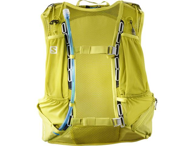 Salomon Skin Pro 15 Zestaw z plecakiem, citronelle/sulphur spring